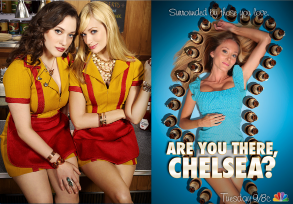 2 Broke Girls ed Are you there, Chelsea?