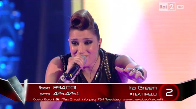 The Voice inedito Ira Green