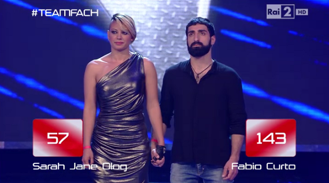 The Voice Fabio Curto Sarah