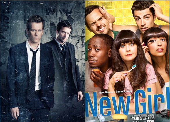 The Following e New Girl