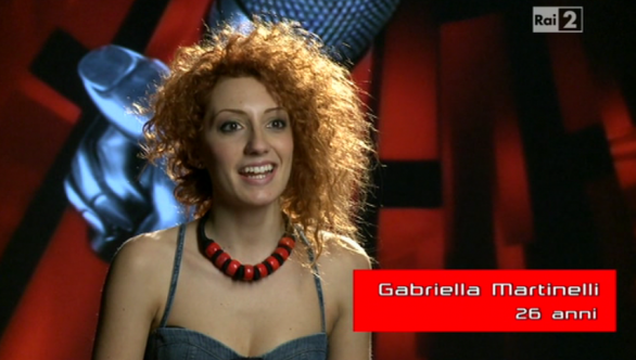 Gabriella Martinelli, The Voice