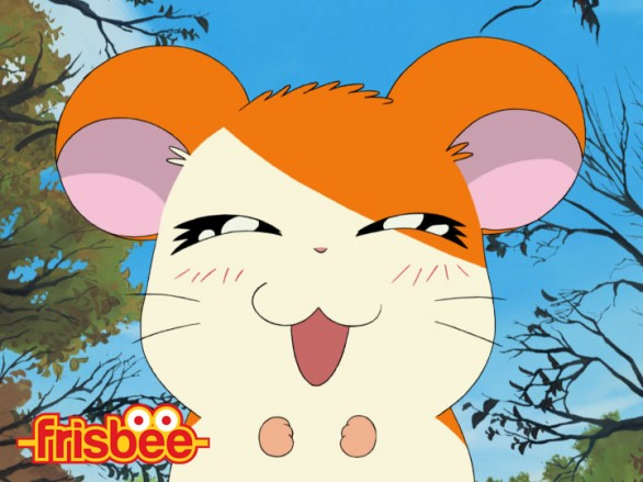 Hamtaro torna in tv su frisbee