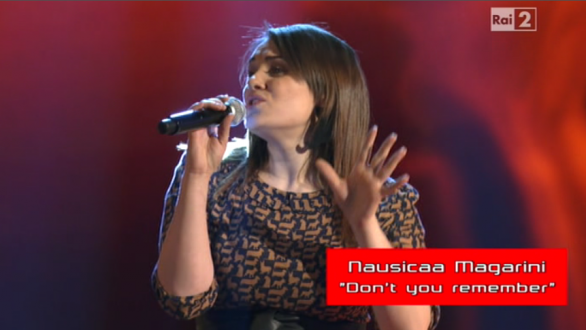 Nausicaa Magarini, The Voice