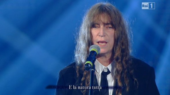 Sanremo 2012 - Marlene Kuntz con Patti Smith - Impressioni di settembre - The world became the world